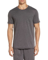 Daniel Buchler Washed Cotton Blend T Shirt