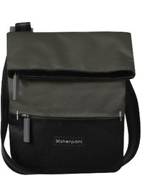 Sherpani Small Pica Crossbody Bag Grey