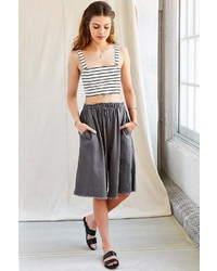 Urban Outfitters Urban Renewal Remade Linen Culotte Short