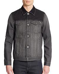 Cult of Individuality Corduroy Trim Denim Jacket