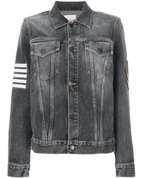 Palm Angels Denim Patch Jacket