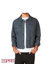 Esprit Col Denim Jacket Quiet Grey