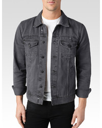 Mens Gray Denim Jacket | Outdoor Jacket
