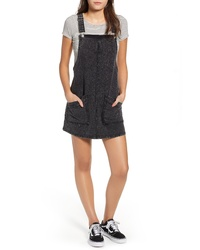 Charcoal Denim Overall Dress
