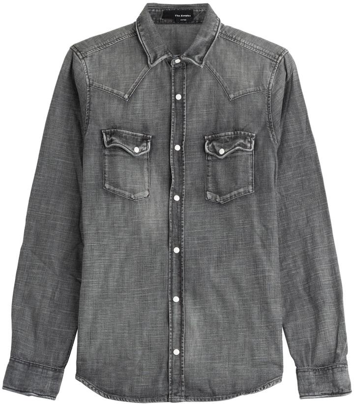 b6c96d0e24f The Kooples Denim Shirt, $265   STYLEBOP.com   Lookastic.com