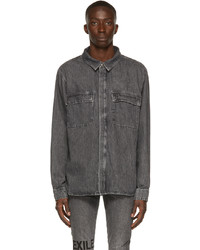 Ksubi Grey Atmosphere Shirt