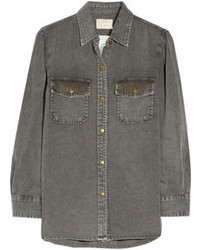 The perfect studded denim shirt medium 97167