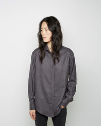 Wool button up shirt medium 423217