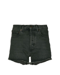 Saint Laurent Classic Fitted Denim Shorts