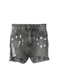 Circus Hotel Distressed Denim Shorts