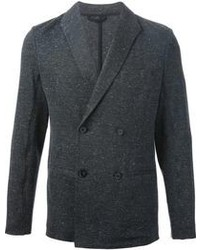 Charcoal Double Breasted Blazer