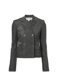 Dvf Diane Von Furstenberg Double Breasted Cropped Jacket