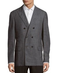 Brunello Cucinelli Long Sleeve Wool Blend Coat