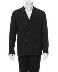 Louis Vuitton Patterned Double Breasted Blazer W Tags