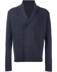 Z Zegna Double Breasted Cardigan