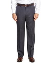 Brooks Brothers Madison Fit Mini Herringbone Trousers