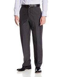 Geoffrey Beene Subtle Plaid Dress Pant With Extender Waist