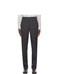 Lemaire Grey Straight Leg Trousers