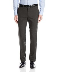 Haggar Jm Premium Stretch Plain Front Flex Waistband Straight Fit Dress Pant