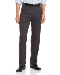 Haggar Straight Fit Plain Front Dress Pant