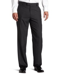 Haggar Textured Pinstripe Tailored Fit Plain Front Suit Separate Pant
