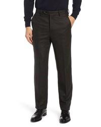 Berle Herringbone Wool Cashmere Trousers