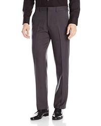 Kenneth Cole Reaction Plaid Modern Fit Plain Front Dress Pant