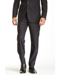 Kenneth Cole New York Charcoal Pinstripe Component Pant