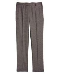 Zanella Parker Birds Eye Stretch Wool Trousers