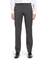 Zanella Parker Check Wool Trousers