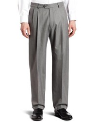 Haggar Pleat Front Cuffed Suit Separate Pant