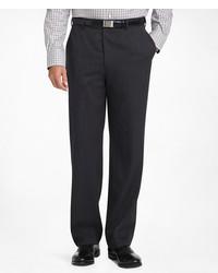 Brooks Brothers Regent Fit Plain Front Classic Gabardine Trousers