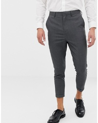 ONLY & SONS Slim Cropped Suit Trouser