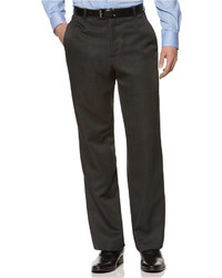 Kenneth Cole Reaction Straight Fit Texture Stria Dress Pants