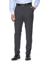 croft & barrow Stretch Classic Fit True Comfort Pleated Suit Pants