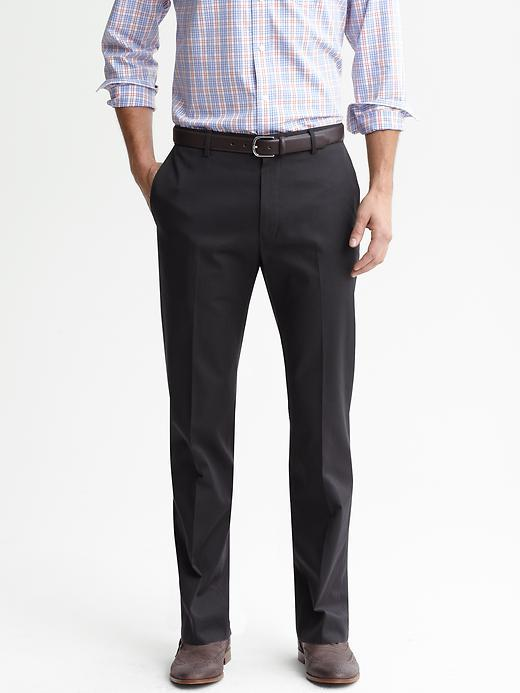 528a008fee11 ... Banana Republic Tailored Slim Non Iron Charcoal Pinstripe Cotton Dress  Pant ...