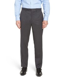John W. Nordstrom Torino Traditional Fit Solid Trousers