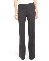 BOSS Tulea Bootcut Stretch Wool Suit Trousers