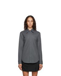Maison Margiela Grey Poplin Shirt