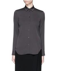 Helmut Lang Silk Crepe Shirt