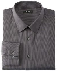 Apt. 9 Slim Fit Striped Dress Shirt Tall