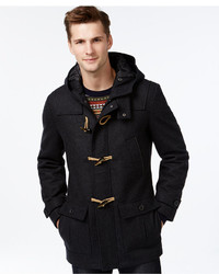 Nautica Big Tall Wool Blend Toggle Coat