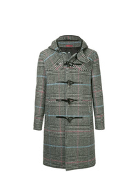 Loveless Check Print Duffle Coat