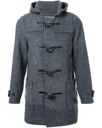 Anrealage Noise Panel Duffle Coat