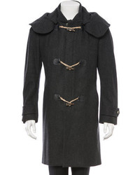 Alexander McQueen Virgin Wool Toggle Coat