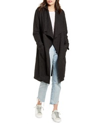 BB Dakota Revolution Drapey Boucle Trench Coat