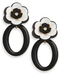 Kate Spade New York Rosy Posies Statet Drop Earrings