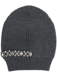 No.21 No21 Crystal Embellished Beanie