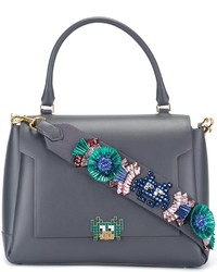 Anya hindmarch arcade embellished medium tote medium 820823