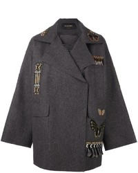 Valentino Etno Embroidered Coat